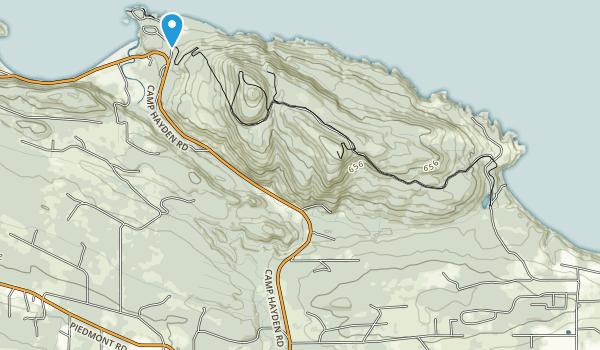 Salt Creek Recreation Area Map