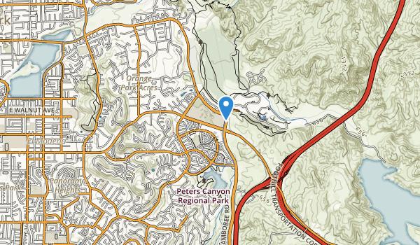 Santiago Hills Park Map