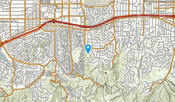 Serrania Avenue Park Map
