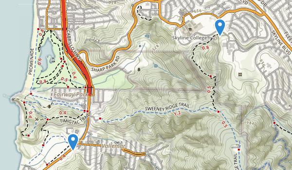 Sharp Park Map