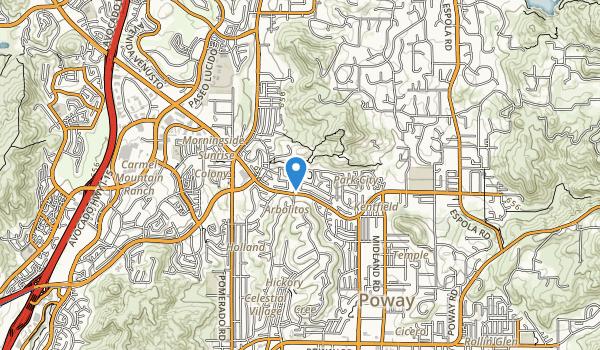 Silverset Park Map