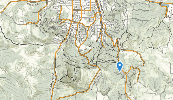 trail locations for Southridge Park
