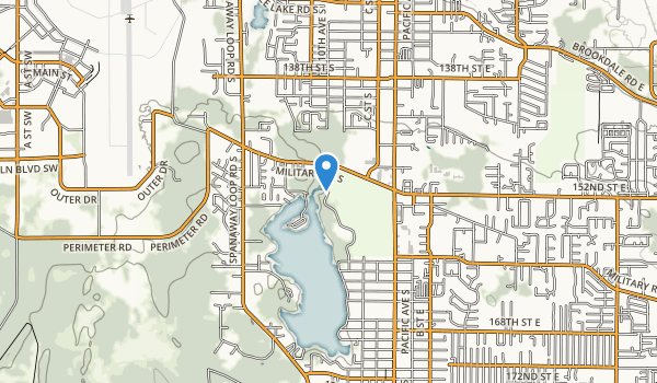 Spanaway Park Map
