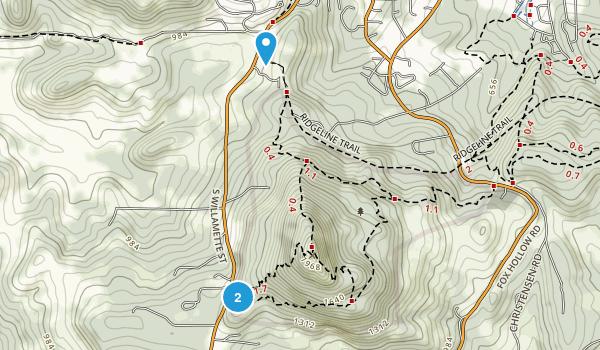 Spencer Butte Park Map