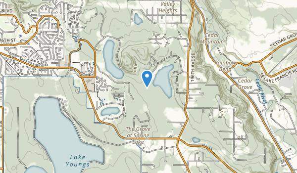Spring Lake/Lake Desire Park Map