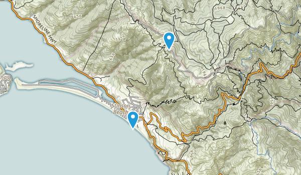 Stinson Beach Federal Park Map
