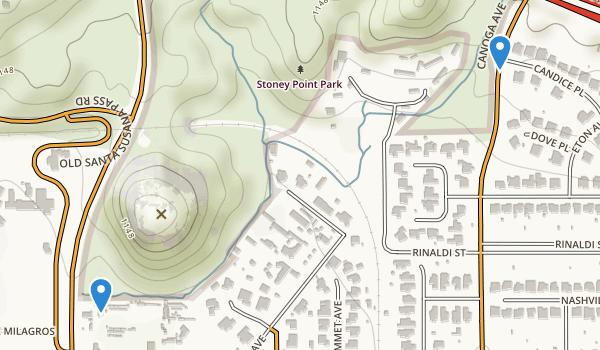 Stoney Point Park Map
