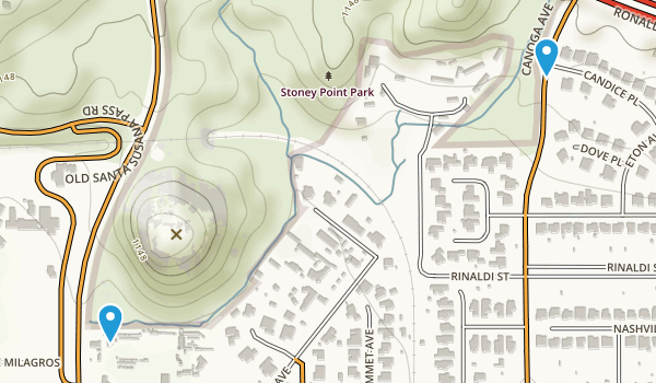 Stoney Point Park Map