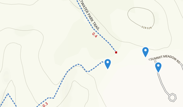 Sweetwater County Park Summit Map