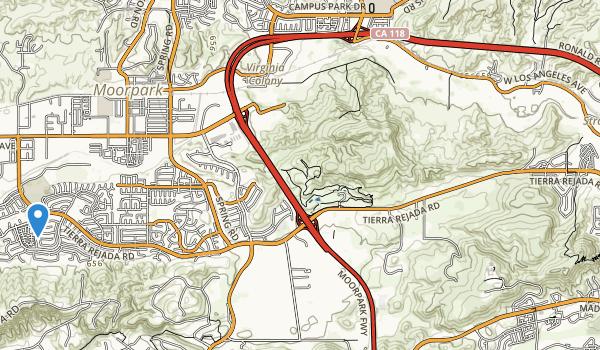 Tierra Rejada Park Map
