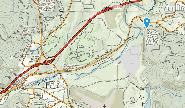 Truckee River Regional Park Map