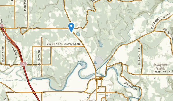 Twin Rivers County Park Map