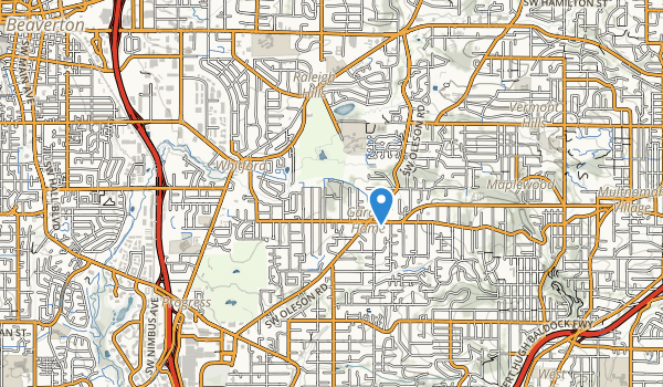 Vista Brook Park Map