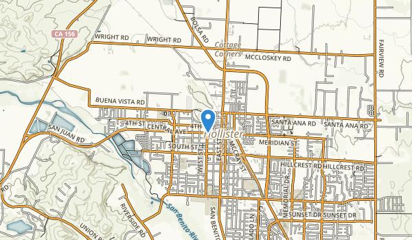 Vista Hill Park Map
