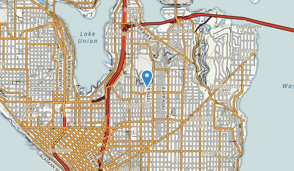 Volunteer Parkway Map