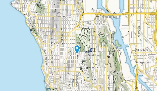 West Seattle Recreation Area Map