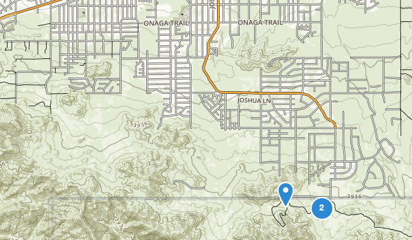 trail locations for Yucca Valley Park