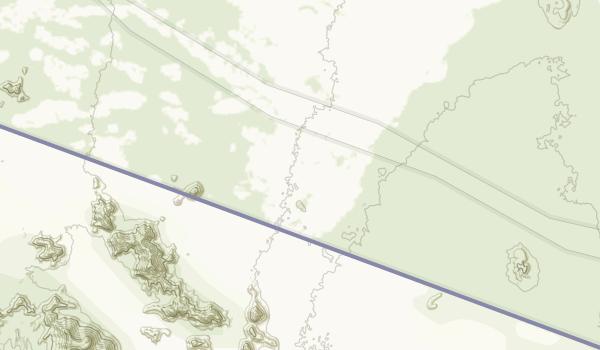Cabeza Prieta Wilderness Map