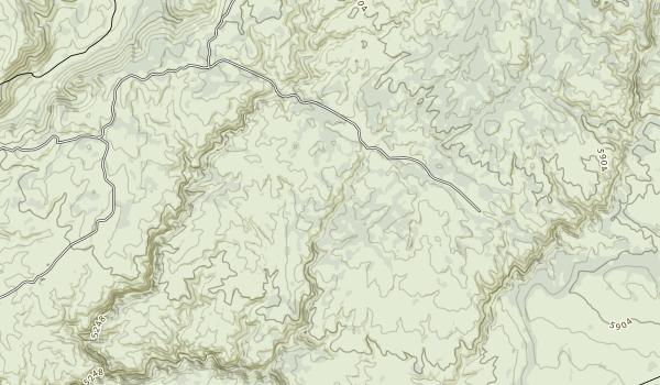 North Fork Owyhee Wilderness Map