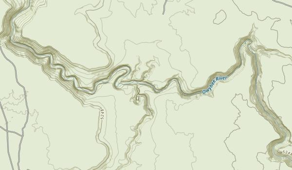 Owyhee River Wilderness Map