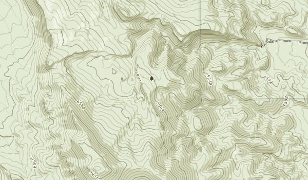 High Rock Lake Wilderness Map