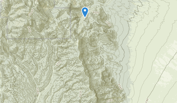Highland Ridge Wilderness Map