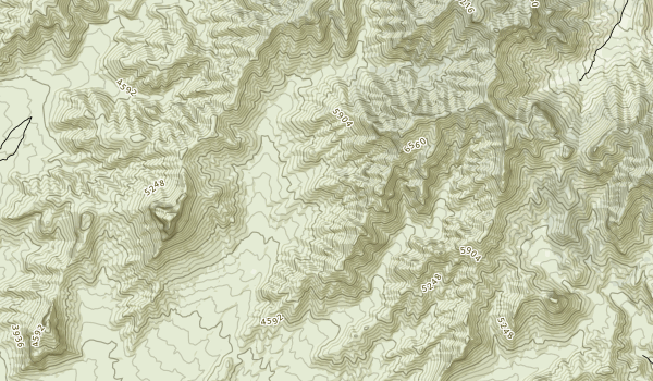 Mormon Mountains Wilderness Map