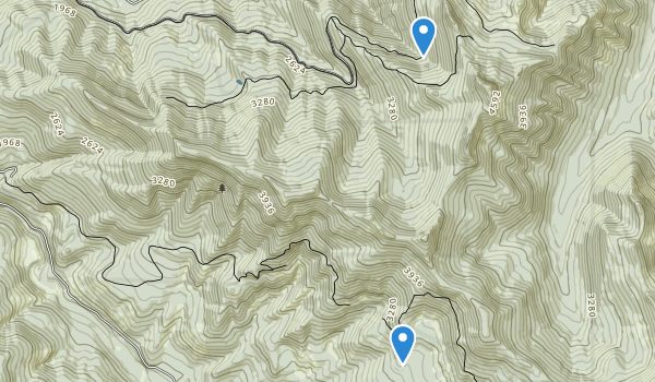 trail locations for Table Rock Wilderness
