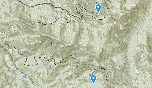 Table Rock Wilderness Map