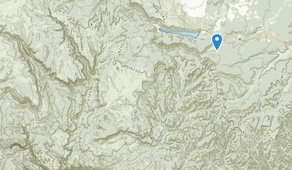 Deep Creek North Wilderness Map