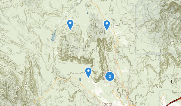Red Mountain Wilderness Map