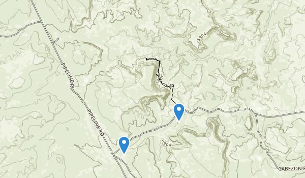 Ojito Wilderness Map
