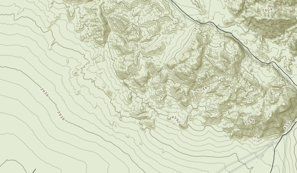 Piper Mountain Wilderness Map