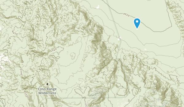 Coso Range Wilderness Map