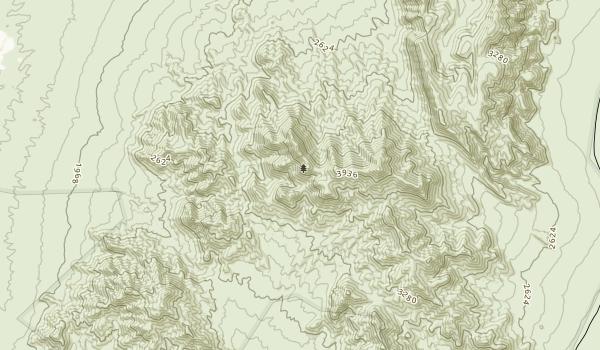 South Nopah Range Wilderness Map