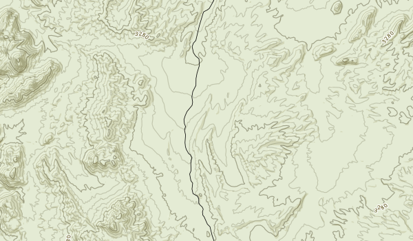 Kingston Range Wilderness Map