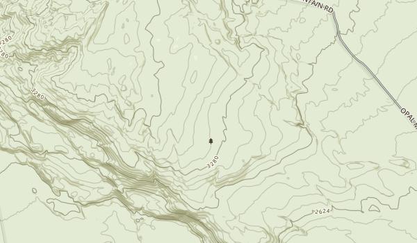 Black Mountain Wilderness Map