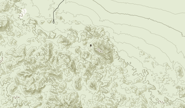 Bristol Mountains Wilderness Map