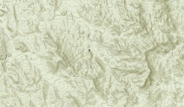Newberry Mountains Wilderness Map