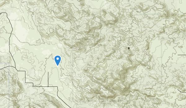 Bighorn Mountain Wilderness Map