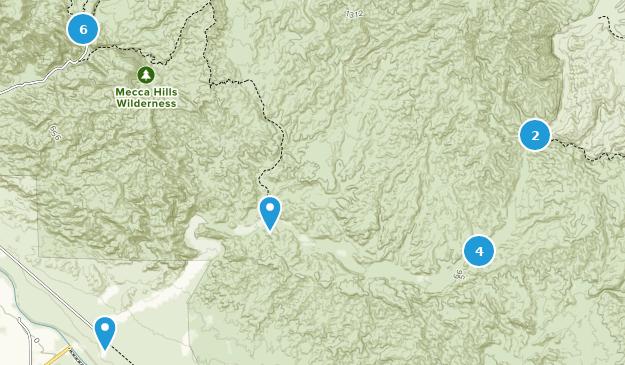 Beste Wege in Mecca Hills Wilderness - Kalifornien | AllTrails