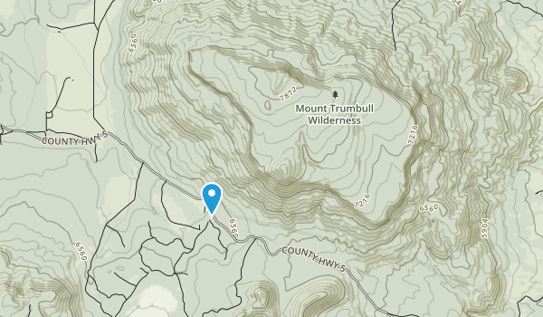 Mount Trumbull Wilderness Map