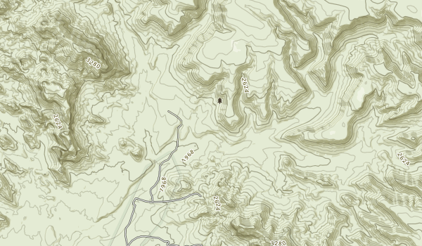 Warm Springs Wilderness Map