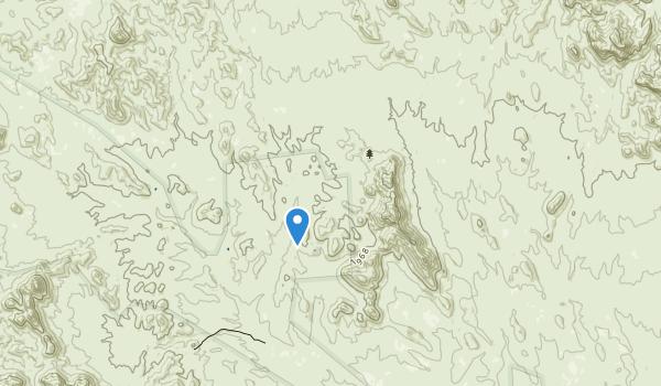 Hummingbird Springs Wilderness Map