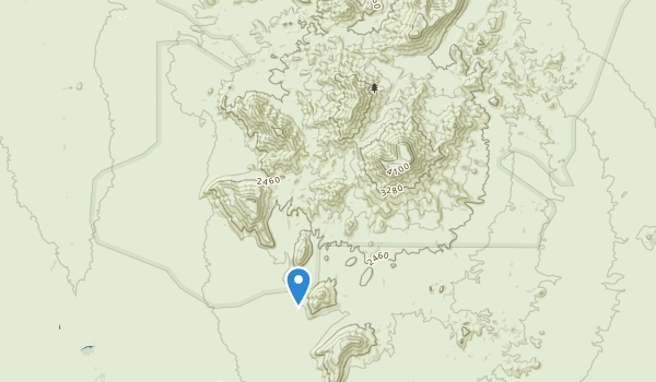 trail locations for Table Top Wilderness