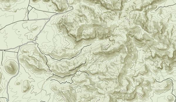 Peloncillo Mountains Wilderness Map