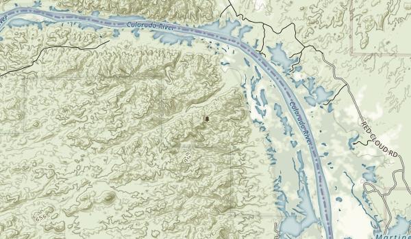 Imperial Refuge Wilderness Map