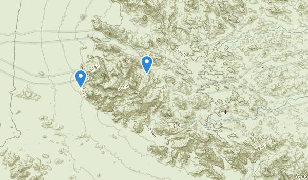 Kofa Wilderness Map