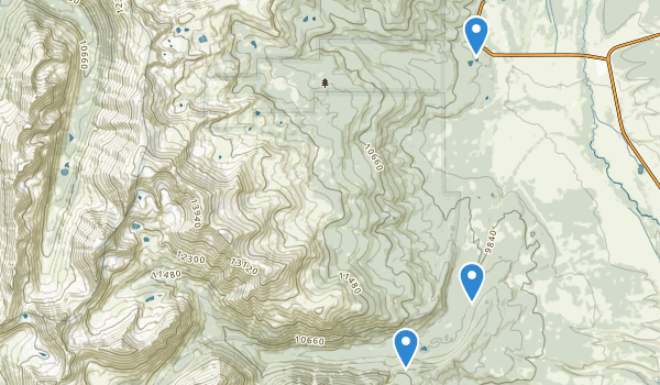 Mount Massive Wilderness Map