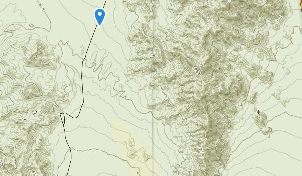 Death Valley Wilderness Map